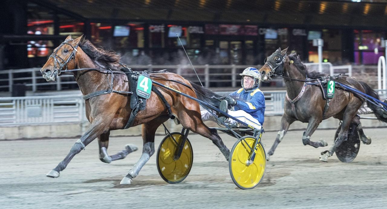Evaluate och Stefan Melander. Foto Tommy Andersson/ALN