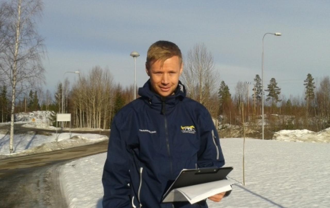 Johan NIlsson slutar sin tjänst som säkerhetsansvarig på Svensk Travsport. Foto Svensk Travsport