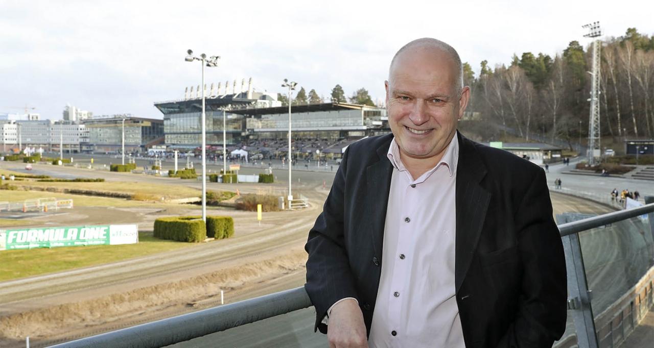 Klaus Koch är verkställande direktör på Charlottenlund Travbane. Foto: Mia Törnberg/Sulkysport