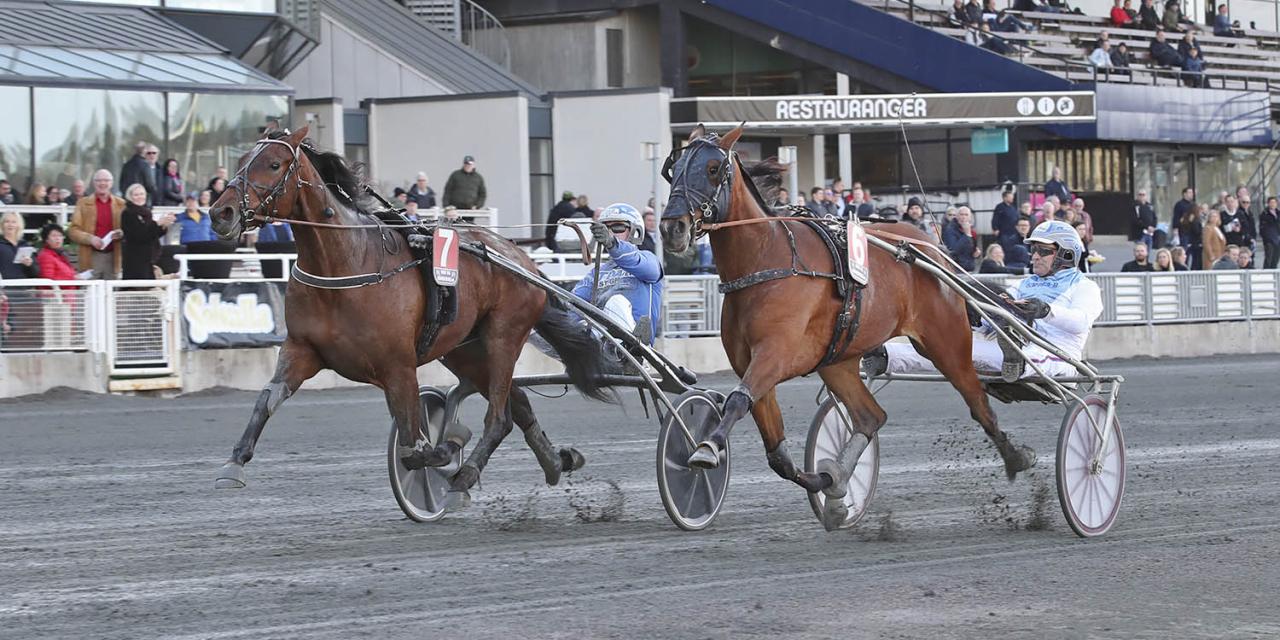 Racing Brodda svarade för en mycket stark årsdebut för Rikard N Skoglund. Foto Mia Törnberg