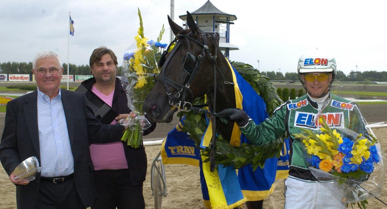 Stargirl tillhörde de bästa i kullen och tog sin största seger i Derbystoet 2007. Foto Leif Norberg/ALN