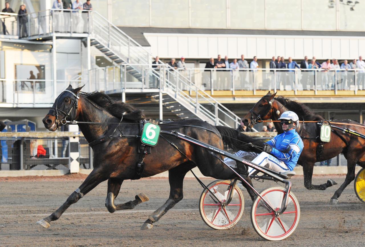 Attraversiamo vann det första uttagningsloppet till Konung Gustaf V:s Pokal. Foto Simon Hagen