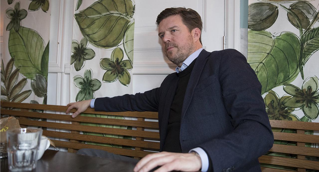 Jörgen Forsberg summerar sitt andra Elitlopp som vd för Solvalla. Foto Jeannie Karlsson/Sulkysport