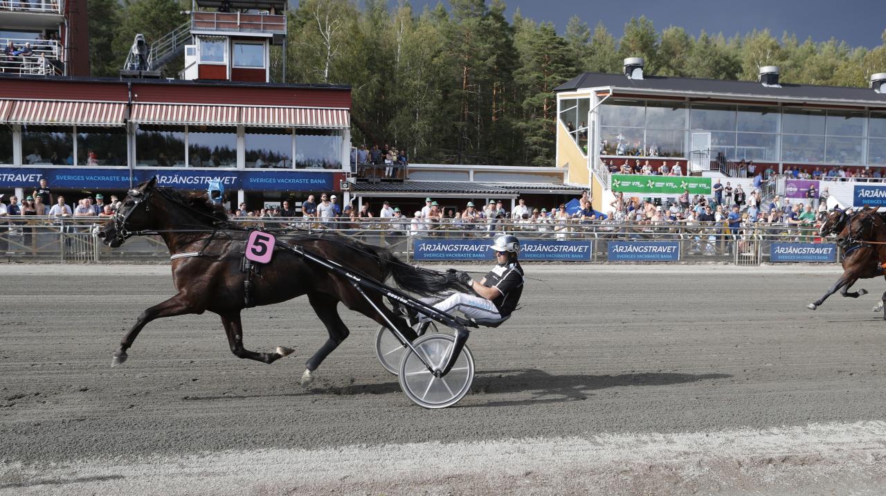Macelleria och Robert Bergh vid dagens seger. Foto: Lennart Kihlman/aln.se