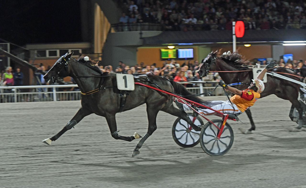 Arazi Boko vann skiljeheatet i Campionato Europeo före Cokstile. Foto: Gerard Forni.