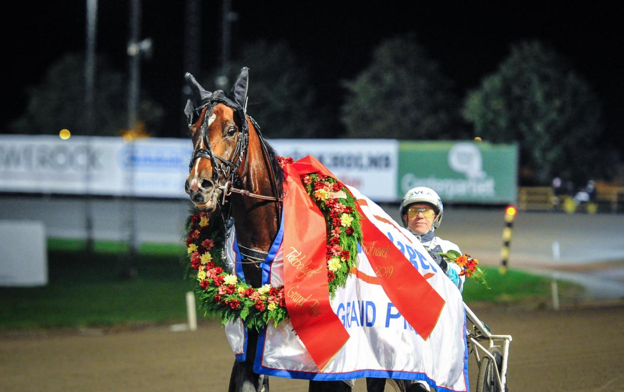 Maxus tog en överraskande seger i TeleBolaget Grand Prix. Foto Simon Hagen