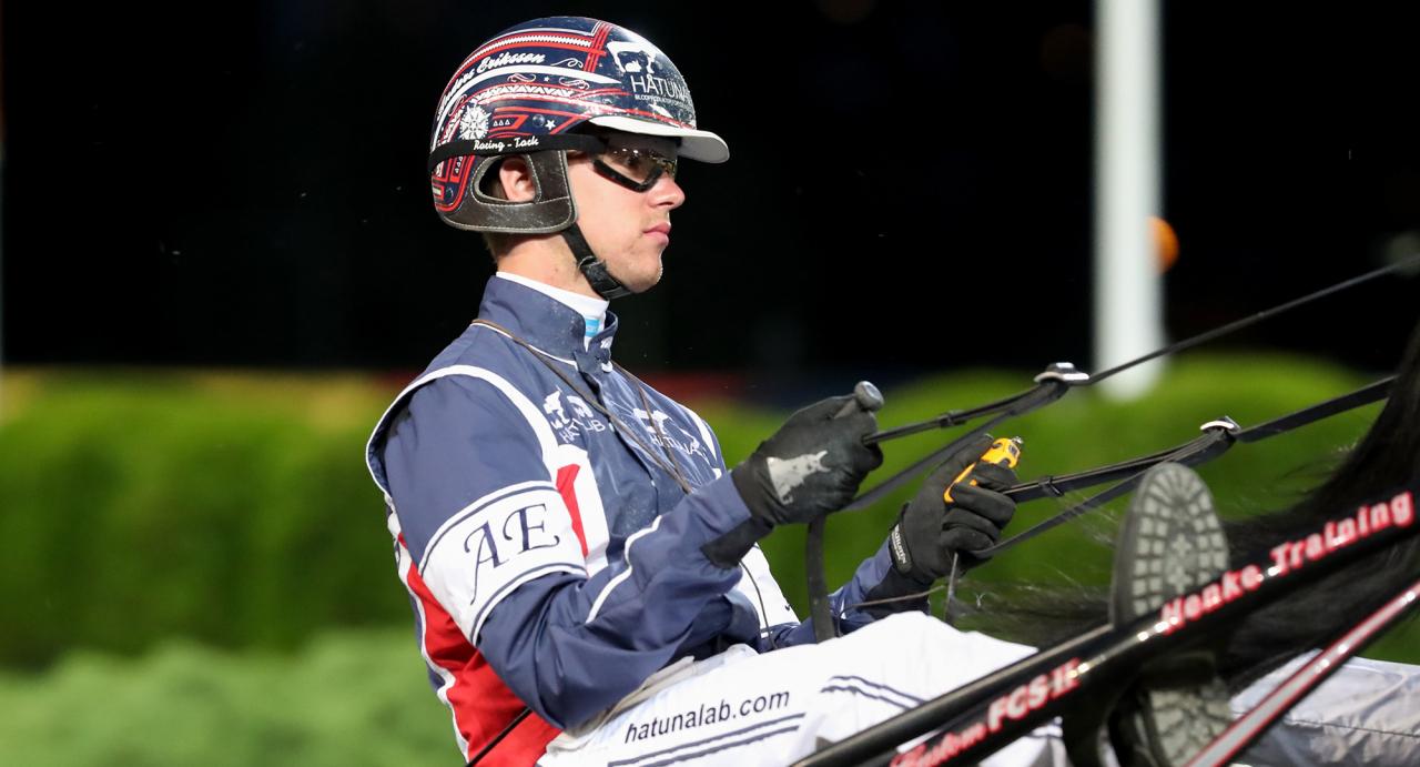 Anders Eriksson är född in i travet –men det var ingen självklar väg att vandra. Ikväll hoppas han kunna överraska på V86. Foto Mia Törnberg