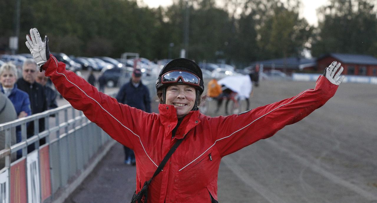 Får Susanne Richter jubla på hemmaplan i helgen? Foto Lennart Kihlman/ALN